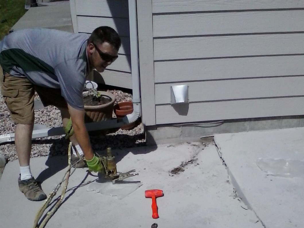 Concrete Leveling Services in Mills, Casper & Evansville WY